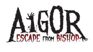AIGOR ESCAPE FROM BISHOP LOGO nero