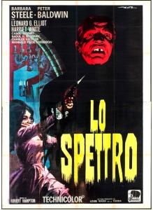 Lo Spettro, Riccardo Freda (Robert Hampton) (1963) - The Ghost - Original Italian 4 Fogli